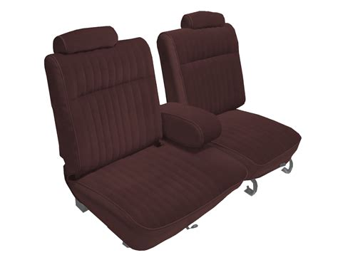 upholstery kits 1981 1987 buick regal coupe with front 55 45 split bench