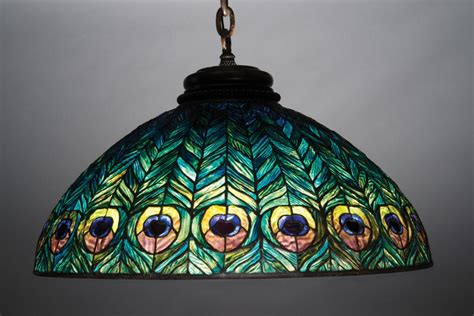 Chandelier Over Table Tiffany Studios Peony Table Lamp Set To Rise To At Least