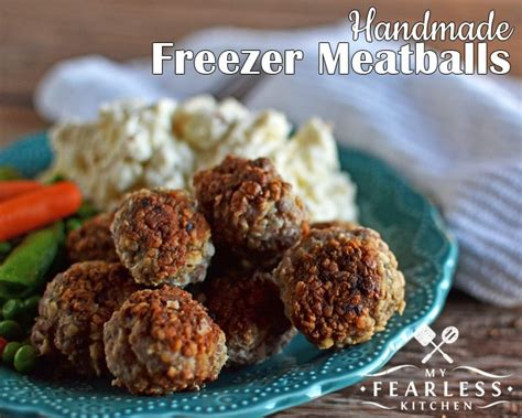 meatballs the only cookbook you need to prepare delicious meatballs everyone will books handmade freezer meatballs my fearless kitchen