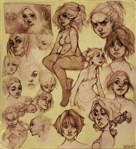 sketchbook of loish sketch page 1 by loish on deviantart