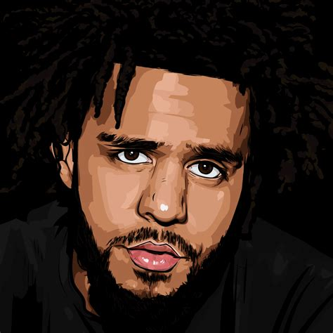 Drawing J Cole by Teamcole Your Source For Everything J Cole