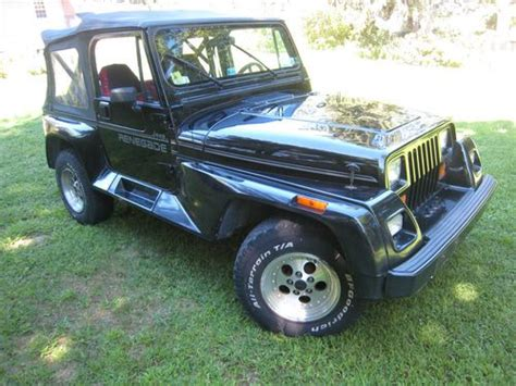 buy used 1991 jeep wrangler renegade 4x4 5 speed 2 door 4 0l in east meadow new york
