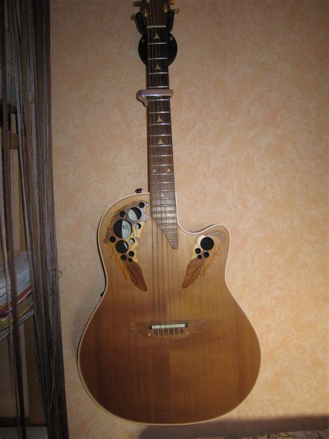 ovation elite 1768 acoustic electric guitar ovation elite 1768c image 732030 audiofanzine