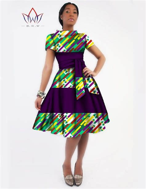 african print clothing for ladies new women dress sashes jurken brand clothing african print