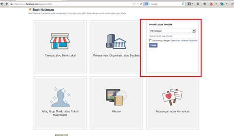 membuat akun facebook bisnis cara membuat akun bisnis di facebook segala seputar internet