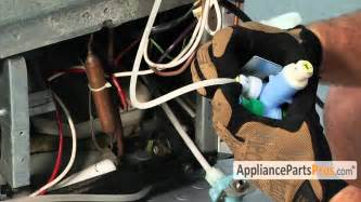 refrigerator water inlet valve part w10408179 how to