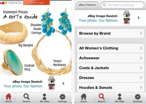 ebay mobile site uk ebay colour swatch fashion app adomedia