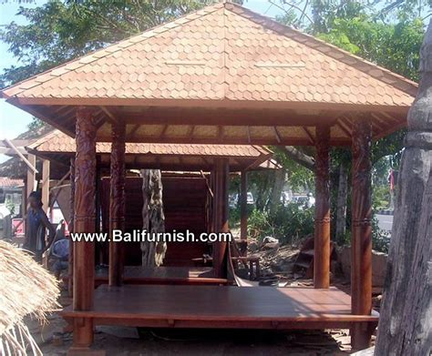 bali gazebo primitive tiki wood gazebo bali wooden gazebo knock house