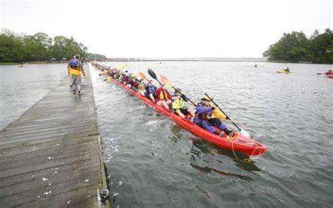 largest boat makers in the world 100 person paddle boats 500 foot kayak
