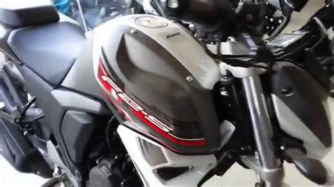 new color yamaha fzs new color wolf grey hd