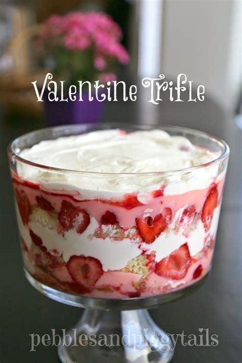 valentines desserts easy easy trifle dessert dessert recipes easy and