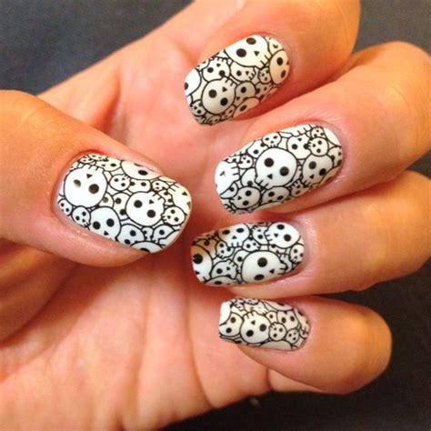 imagenes uñas decoradas en blanco y negro 40 incre 237 bles dise 241 os en blanco y negro para pintar tus u 241 as