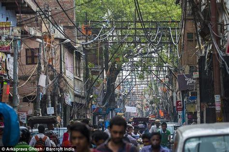 tattoo underground new delhi delhi power cables in old delhi dangle perilously close to the