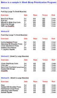 bench press schedule bodybuilding workout schedule circuit