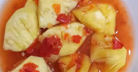 resep asinan nanas enak  sederhana cookpad
