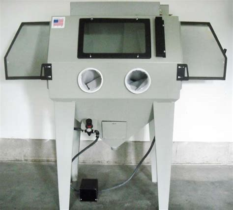 bead blasting cabinet glass bead cabinets ams 4024 100 power blaster