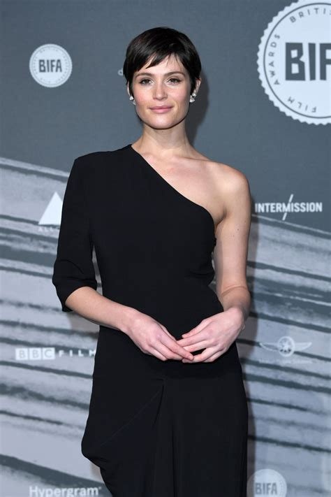 GEMMA ARTERTON at British Independent Film Awards in