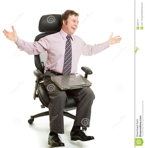 Spinning In Chair by Spinning In Ergonomic Chair Stock Image Image 8622173