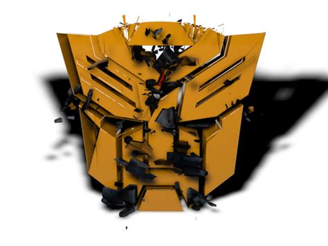 Aksesoris Mobil Logo Transformers Bumblebee autobot logo transform to bumblebee animation by plavidemon on deviantart
