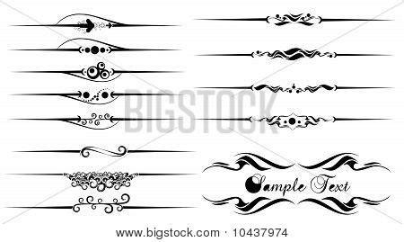 underline tattoo designs vector photo free trial bigstock