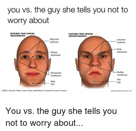 high cheek bones vs low you vs the guy she tells you not to worry about features