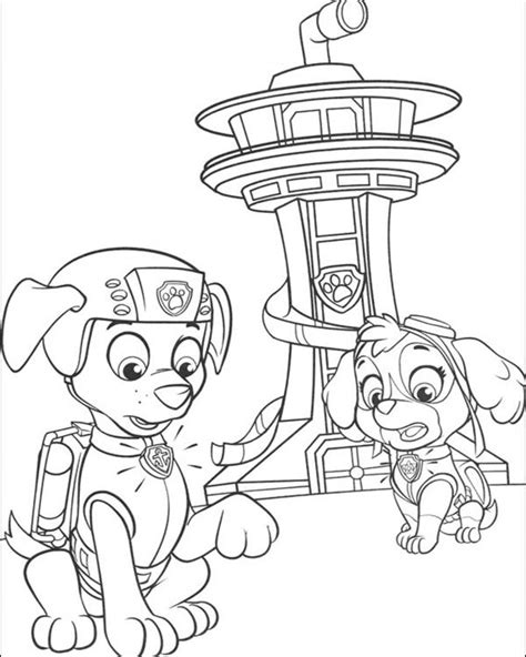 paw patrol coloring book free coloring pages of paw patrol