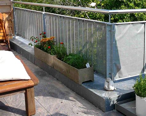 Balkone Sichtschutz by Der Balkon Sichtschutz Sch 214 Ner Wohnen