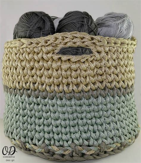 crochet pattern for yarn basket your giant yarn basket free crochet pattern oombawka