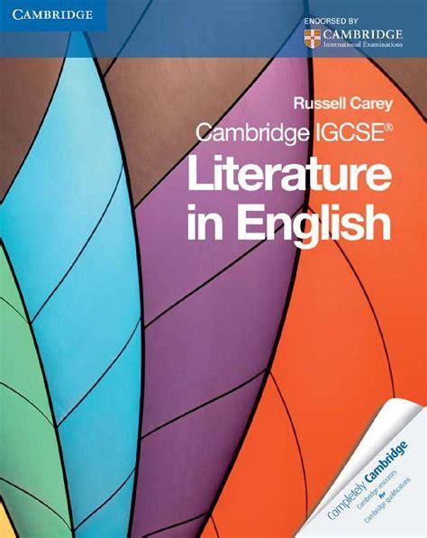 libro cambridge igcse literature in cambridge igcse literature in english by cambridge university press education issuu