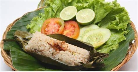 membuat nasi bakar udang pedas resep masakan indonesia