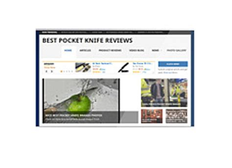 pocket knife reviews pocket knife review website plr
