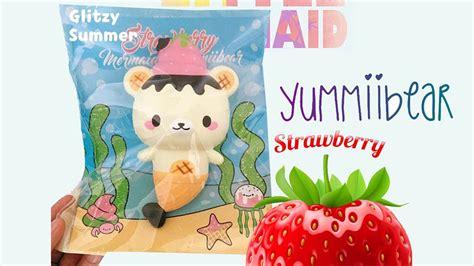 Squishy Strawberry By Yummiibear yummiibear with strawberry squishy