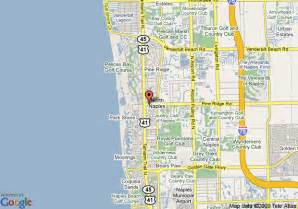 naple florida map map of grand inn naples