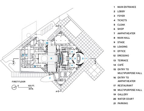 Umass Floor Plans poly grand theater 2015 05 16 architectural record