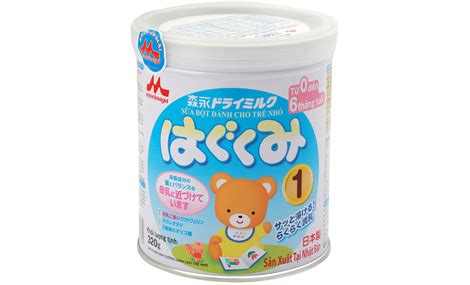 Morinaga Hagukumi 0 1 Tahun sữa morinaga hagukumi số 1 320g ch 237 nh h 227 ng sieuthitretho vn