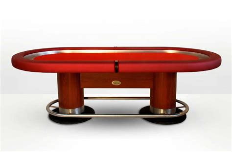 Casino Tables by Oval Table Caiman Casino Ex Pokerproductos