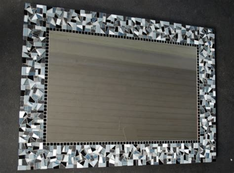 black and white mirror black and white mosaic mirror