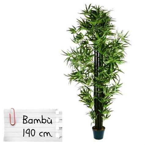 piante finte da interno piante finte artificiali da arredo interno bamb 249 190 cm