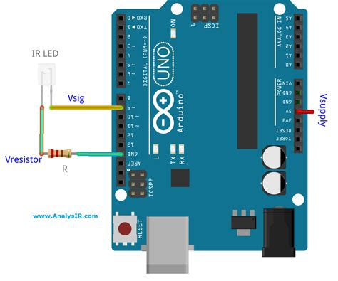 using resistors with arduino driving an infrared led directly from an arduino pin