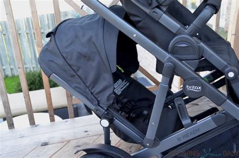 britax second seat 2016 2017 britax b ready second seat installed canopy fully