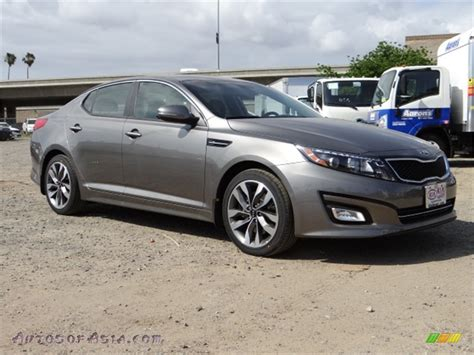 Kia Optima Satin Metal 2014 Kia Optima Sx In Satin Metal 340313 Autos Of Asia