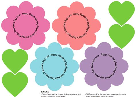 free printable valentine flowers free printable flowers pictures clipground