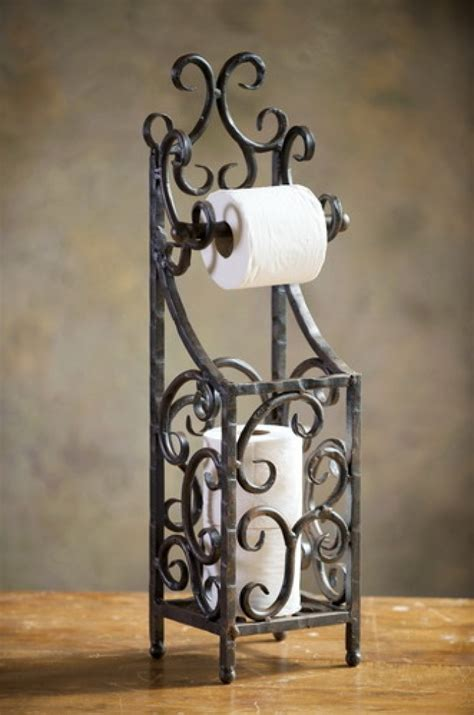 metal ornaments home decor wrought iron siena toilet paper holder wrought iron