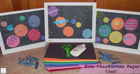 Arts And Crafts Construction Paper - construction paper craft learn link with linky