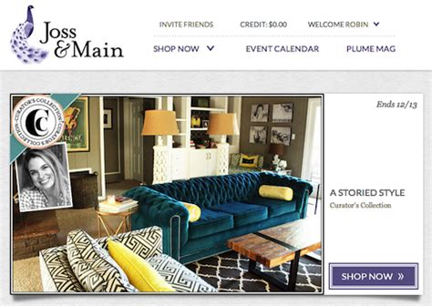 joss and main wayfair com lands 36 3m to boost its joss main site
