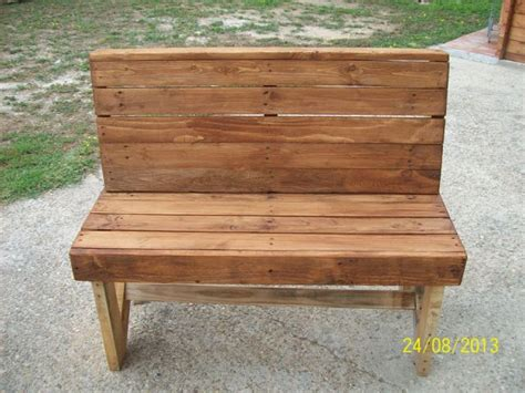 pallet benches diy pallet bench instructions pallet furniture plans