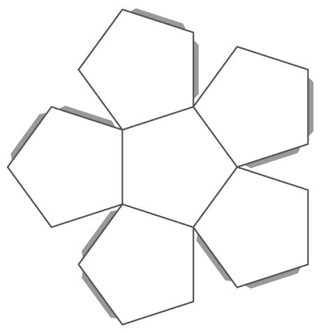 8 inch hexagon template 8 inch hexagon template clipart best