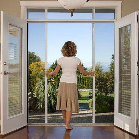retractable patio screen door 25 best ideas about doors with screens on