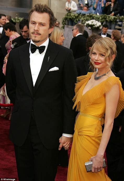Did Heath Ledger And Williams Get Married by Heath Ledger S Matilda Bears Striking Resemblance