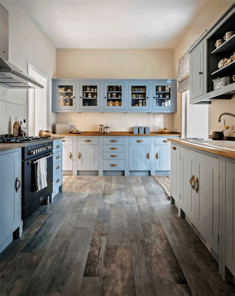 blue modern wooden kitchen designs design flooring kitchen floor tile design light blue